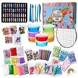 THE TWIDDLERS 100 Piezas DIY Kit Slime para Niñas Niños - Set para Hacer Slime | Educativo y Creativo