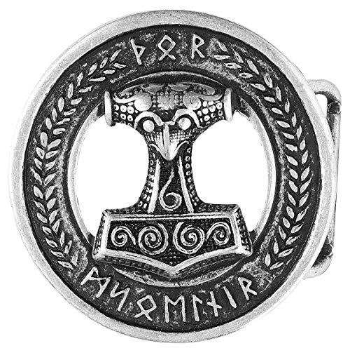 etNox hard and heavy Mazo de Thor Hebillas cinturón Standard