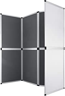 Guellin 61x91 cm Biombo 8 Paneles Biombo Plegable Separador de Espacios Pantalla Partición Interior para Separar Ambientes...