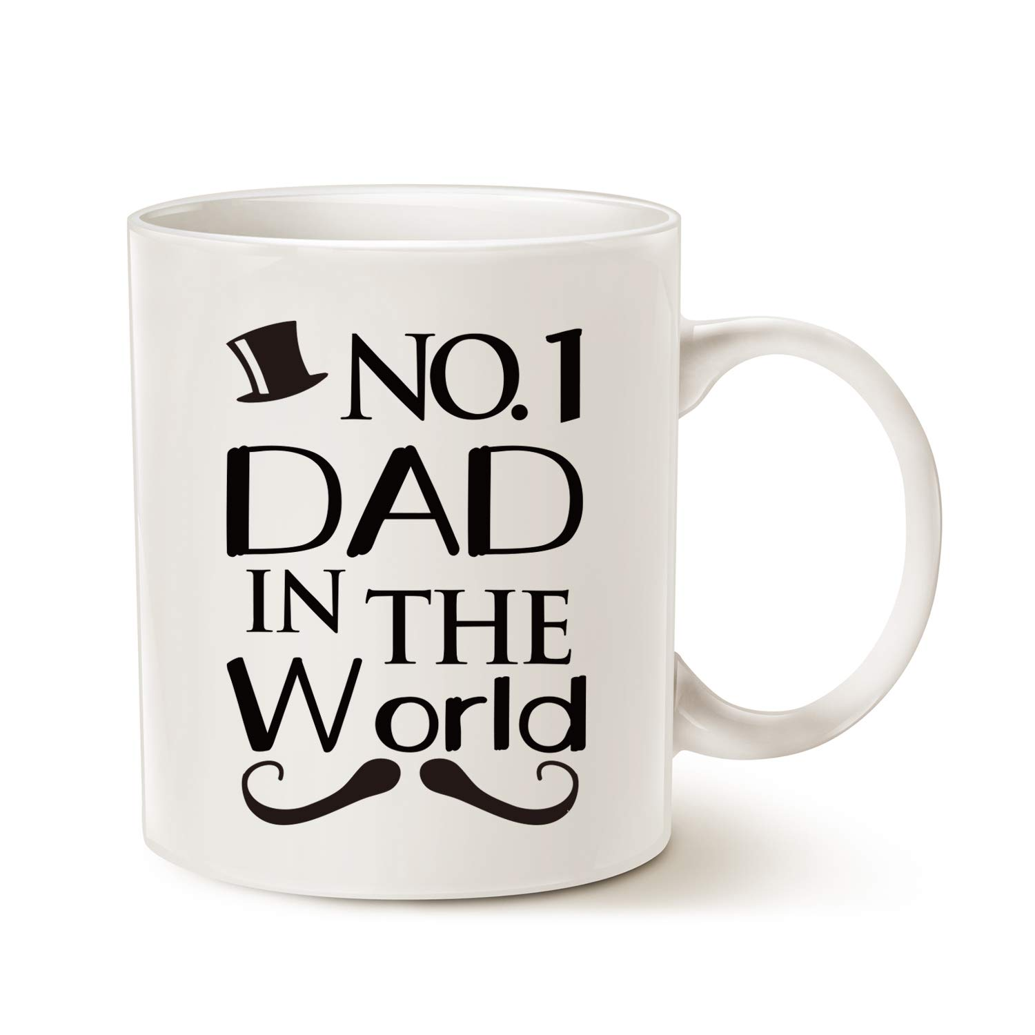 This Might Be Wine Funny Mustache Dad Coffee Mug No 1 Dad In The World Best Birthday Gifts For Father Ceramic Cup White 11 Oz Buy Online In India At Desertcart