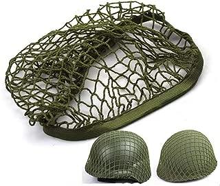 MK2 M1 M35 Helmet Net Cover Army Green Replica WW2 WWII