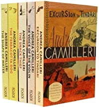 Andrea Camilleri Inspector Montalbano Mysteries Collection 5 Books Set Pack (The Voice of the Violin, Excursion to Tindari...