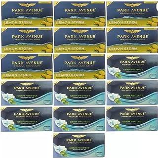 PARK AVENUE 8 Lemon Storm Soap (125gm) + 8 Germ Protection Soap (125gm) (16 x 7.81 g)