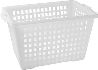 Giganplast Panier Ajouré, Plastique, Blanc