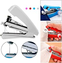 Sirupday Mini Portable Cordless Hand-held Clothes Sewing Machine Home & Travel Use