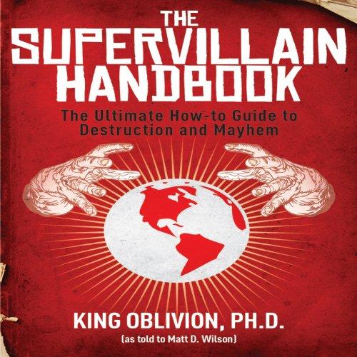 The Supervillain Handbook cover art
