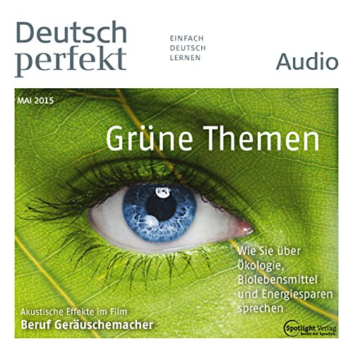 Deutsch perfekt Audio. 05/2015 Titelbild