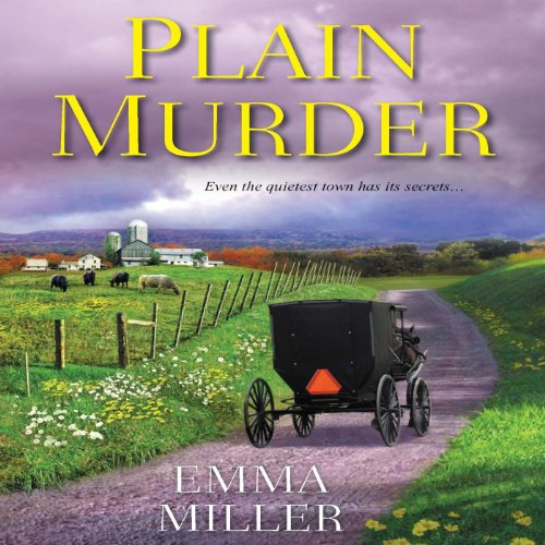 Plain Murder audiobook cover art