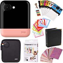 Polaroid POP 2.0 Instant Digital Camera (Pink) Gift Bundle + Paper (10 Sheets) + Case + Photo Album + Frames + Stikcer Sets and More