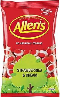 Allen's Strawberry Cream Lollies, 1300 g
