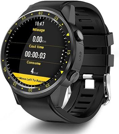 LayOPO F1 Smart Sports Watch Fitness Tracker, 1.3inch Bluetooth 4.0 Full Round High-