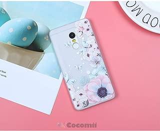 Cocomii Cute Armor Xiaomi Redmi Note 4/Note 4X Case New [Feels So Good in Hand] Pretty 3D Pattern Relief Silicone Shockproof Bumper [Slim] Cover for Xiaomi Redmi Note 4 (C.Watercolor Butterflies)