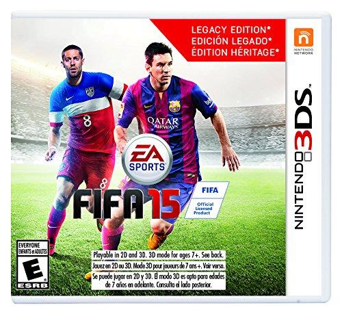 FIFA 15 - El Paso Mall Max 74% OFF 3DS Nintendo