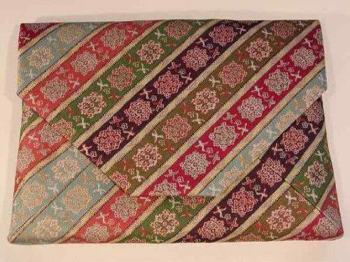 茶道具 数寄屋袋(すきや袋) 唐花 雙鳥 長斑錦(からはな そうちょう ちょうはんきん) 龍村美術織物裂地