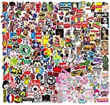 NEULEBEN Stickers Autocollants (400pcs), Autocollants en Vinyle pour Ordinateur Portable pour Bouteilles d'eau,Planche Bà roulettes,Bagages,Motos,IPhone,MacBook,Autocollants de fête Bricolage Cool