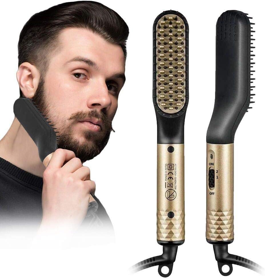Spazzola da barba Lisciante Elettrica Anlan