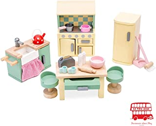 Le Toy Van Daisylane Kitchen Premium Wooden Toys for Kids Ages 3 years & Up