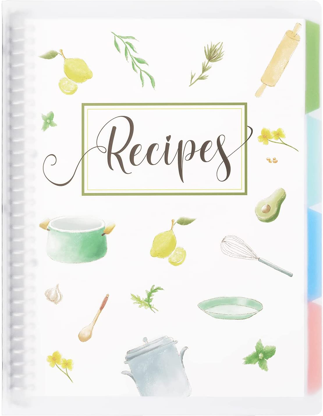 Recipe Book to Write in Your Own Recipes, 8.5