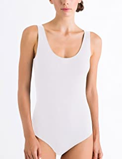 Hanro Women's Cotton Sensation Body Bodysuit