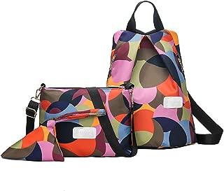 Moonite Women Anti-Theft Backpack Travel Student Bag Pack of 3