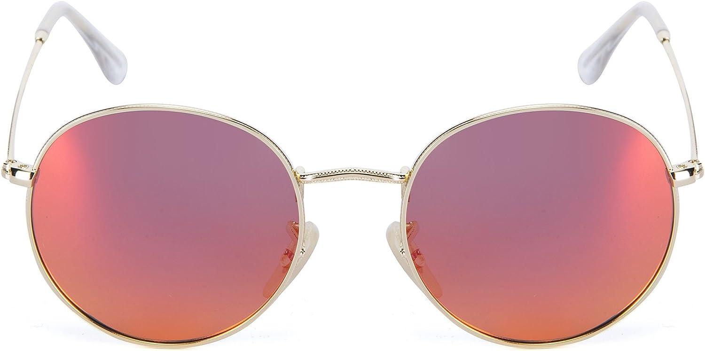 YJMILL New Retro Riding Travel Sports Round Polarized Sunglasses Men Women 34472