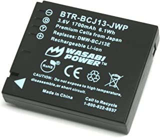 Wasabi Power Battery for Panasonic DMW-BCJ13 and Panasonic Lumix DMC-LX5, DMC-LX7