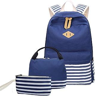 Bolsas de agua Nankod Moda 4pcs Mujeres Mochila Hombro Mochila Escolar Oso Colgante Viaje Satchel Mochila Bolso de Mano Set Daypack Card Holder Rosa Acampada y senderismo