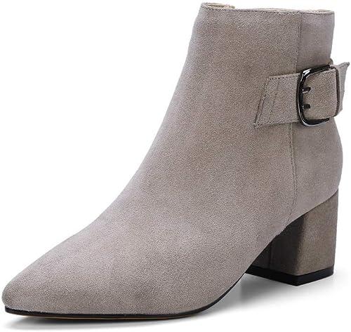 AdeeSu SXE04737, Sandales Compensées Femme - gris - - gris, 36.5  service attentionné