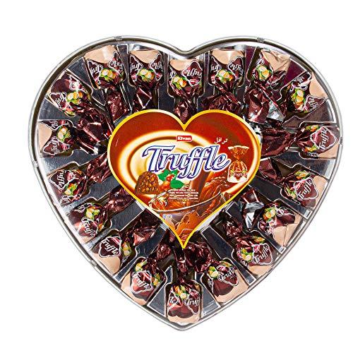 Elvan - Truffle Heart Haselnuss - 280 g - Valentinstags-Geschenk - Schokolade