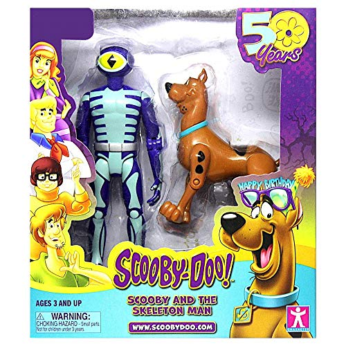 Scooby-Doo! 50th Anniversary Twin Figure Pack Exclusive - Scooby and The Skeleton Man