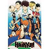 Póster de chungeng Haikyuu – Japón manga póster de lata de anime de Japón Póster de dibujos animados de animación de Japón (L)