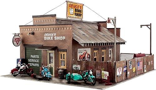 boisLAND SCENICS PF5193 Deuce's Bike Shop HO