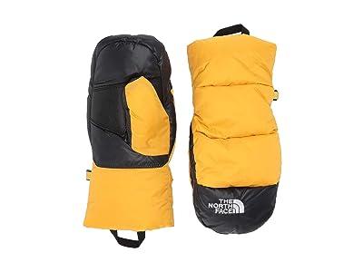 The North Face Kids Nuptse Mitt (Little Kids/Big Kids) (TNF Yellow) Ski Gloves