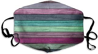 Bandanas unisex de cobertura completa con protección UV, polaina, color morado, azul y verde de madera