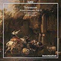 テレマン:管楽器のための協奏曲集 第3集