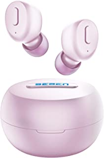 BEBEN Bluetooth 5.0 True Wireless Earbuds, IPX8 Waterproof 30H Cyclic Playtime TWS Stereo...