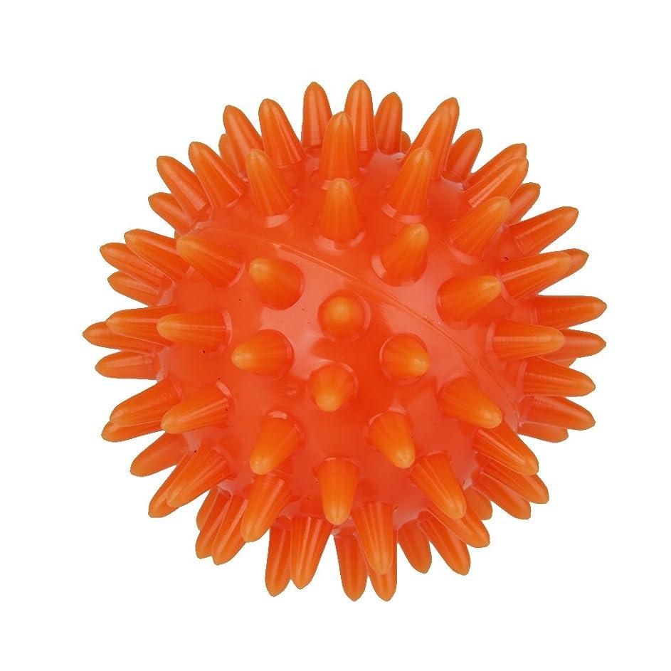 シフト人差し指年金受給者SONONIA マッサージボール  手のひら 足 腕 首 背中 足首 ダーク フック側 オレンジ 5.5cm