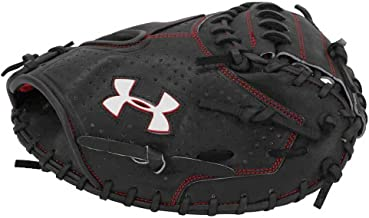 "Under Armour Baseball UACM-PRO1 Professional Series Baseball Catching Mitt, Black, Adult 34"""
