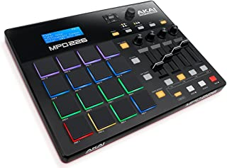 midiplus, 32-Key Midi Controller, 32-Key (AKM320) Akai Professional MPK Mini MKII | 25 Key USB MIDI Keyboard Controller With 8 Drum Pads and Pro Software Suite Included – Limited Edition Black Finish Akai Professional MPD226 | 16-Pad USB/MIDI Pad Controller With Full Complement of Fully-Assignable, Production-Ready Controls