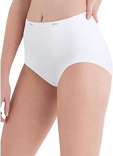 Hanes Womens Cotton White Brief 10-Pack