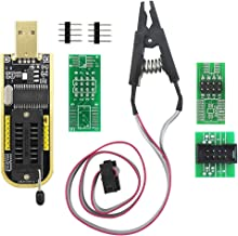 KeeYees SOP8 SOIC8 Test Clip for EEPROM 25CXX / 24CXX with CH341A 24 25 Series EEPROM Flash Bios USB Programmer