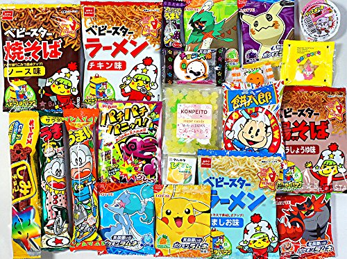 Bundle 21 pieces Assorted Japanese Candy Snack Ramune Chocolate snack &...