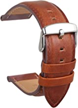 HVDHYY Genuine Leather Watch Band Calf Leather Extra Strap