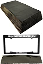 product image for HushMat 10400 floor/dash kit with 20 BLACK sheets + License Plate Kit