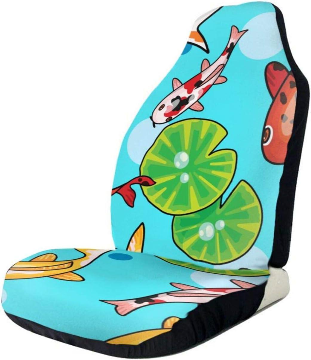 RUTO Goldfish Car Seat Covers Long Beach Mall Set Atlanta Mall Vehi Most Off-Road Suvs Cars
