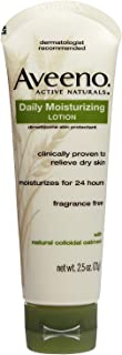 AVEENO Active Naturals Daily Moisturizing Lotion 2.50 oz ( Pack of 4)