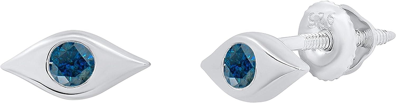 Dazzlingrock Collection Round Gemstone Ladies Stud Evil Earr Ranking TOP16 Eye Sales