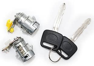 Koauto Door Lock Set W/Key(L & R) for 89-95 Toyota Pickup 89-98 4runner