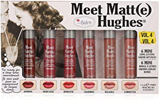6 the Balm Meet Matte Hughes Mini Long-Lasting Liquid Lipstick
