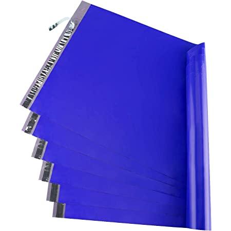 Metronic 50PC Large Shipping Bags Poly Mailers 19x24 Envelopes Mailers with Self Adhesive Waterproof and Tear-Proof Postal Bags in Classic Blue